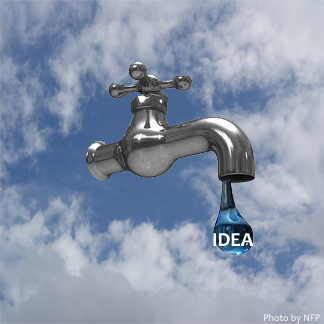 What To Do When Ideas Flow Like a Faucet?