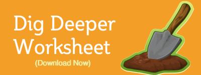 Dig deeper worksheet button